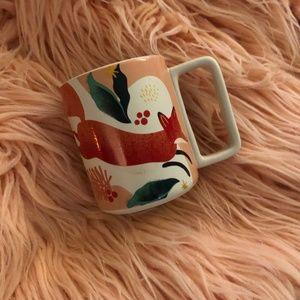 Starbucks Fox Coffee Cup Mug Brand New